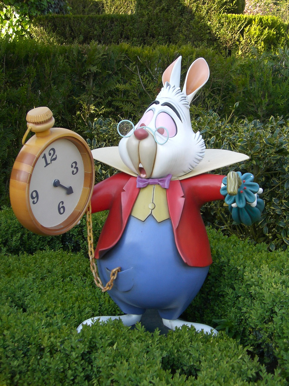 Alice in Wonderland for the first time - Rabbit